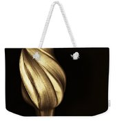The Dance Of The Golden Moonflower Weekender Tote Bag
