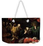 The Death Of The Virgin Weekender Tote Bag by Caravaggio
