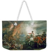 The Defear Of The Floating Batteries At Gibraltar Weekender Tote Bag