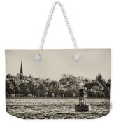 The Delaware River At Bristol Weekender Tote Bag