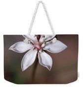 The Delicate Pastel Pink Flower Weekender Tote Bag