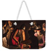 The Denial Of Saint Peter Weekender Tote Bag