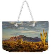 The Desert Golden Hour  Weekender Tote Bag