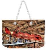 The Detroit News Airplane Dearborn Mi Weekender Tote Bag