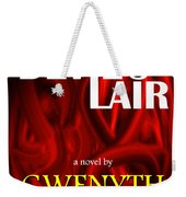 The Devil's Lair Book Cover Weekender Tote Bag