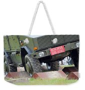 The Dingo 2 Mppv Of The Belgian Army Weekender Tote Bag