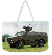The Dingo II In Use By The Belgian Army Weekender Tote Bag
