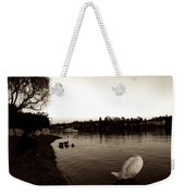 The Disinterested Goose And I  Weekender Tote Bag