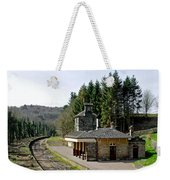 The Disused Alton Towers Railway Station Weekender Tote Bag