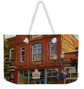 The Dixon Building In Grants Pass Weekender Tote Bag
