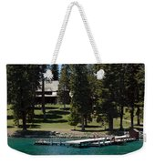 The Dock At Sugar Pine Point State Park Weekender Tote Bag