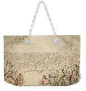 The Dog Fight Weekender Tote Bag