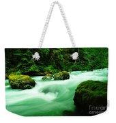 The Dosewallups River  Weekender Tote Bag