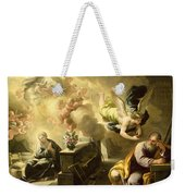 The Dream Of Saint Joseph Weekender Tote Bag by Luca Giordano