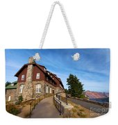 The Edge Of The Crater Weekender Tote Bag