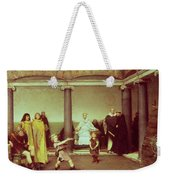 The Education Of The Children Of Clothilde And Clovis Weekender Tote Bag