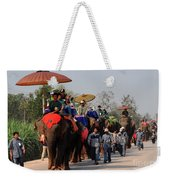 The Elephant Parade Weekender Tote Bag