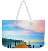 The End Of A Good Day Weekender Tote Bag