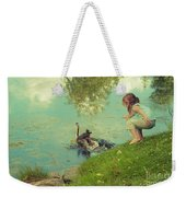 The End Of The Story Weekender Tote Bag