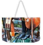 The English Saddle Weekender Tote Bag by Paul Ward