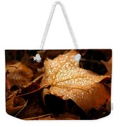 The Enlightened Maple Leaf Weekender Tote Bag by LeeAnn McLaneGoetz McLaneGoetzStudioLLCcom