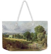 The Entrance To Fen Lane By Constable John Weekender Tote Bag