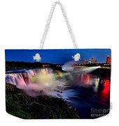 The Evening Rainbow Weekender Tote Bag
