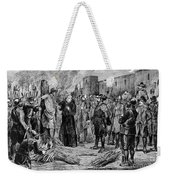 The Execution Of The Inca, 1533 Weekender Tote Bag