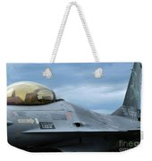 The F-16 Aircraft Of The Belgian Army Weekender Tote Bag