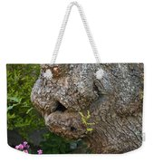 The Face In The Tree Weekender Tote Bag