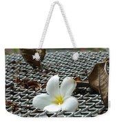 The Fallen Flower Weekender Tote Bag