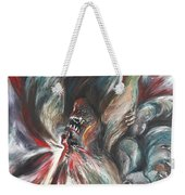 The Falling Figure Weekender Tote Bag