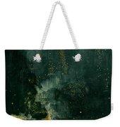 The Falling Rocket Weekender Tote Bag by James Abbott Whistler