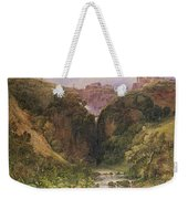 The Falls Of Tivoli Weekender Tote Bag