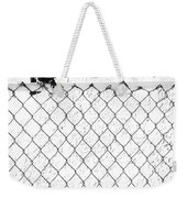 The Fence That Follows Weekender Tote Bag