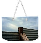 The Fence The Sky And The Beach Weekender Tote Bag