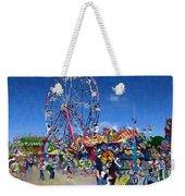 The Ferris Wheel At The Fair Weekender Tote Bag