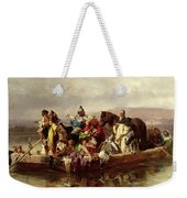 The Ferry  Weekender Tote Bag by Johann Till