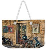 The Ferry Ticket Office Corfu Croatia Weekender Tote Bag