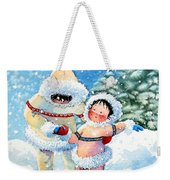 The Figure Skater 3 Weekender Tote Bag