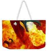 The Fire Dragon Weekender Tote Bag