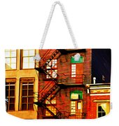 The Fire Escape Weekender Tote Bag