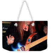 The Fire Of The Electric Sun Weekender Tote Bag