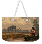The First American Wildlife Artist Weekender Tote Bag