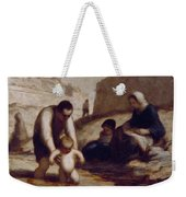 The First Bath  Weekender Tote Bag by Honore Daumier