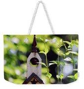 The First Tweetaterian Church Weekender Tote Bag