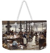 The Fish Hall At The Central Market  Weekender Tote Bag