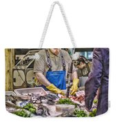 The Fish Monger Weekender Tote Bag