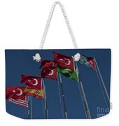 The Flags Of The Participating Nations Weekender Tote Bag