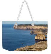 The Flight Over Dwejra  Weekender Tote Bag